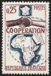 Sellos de Europa - Francia -  Cooperación con África