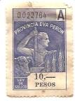 Stamps Argentina -  La Pampa