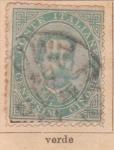 Stamps Italy -  Humberto I edicion 1879