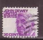Stamps United States -  John Dewey
