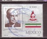 Stamps Mexico -  serie- hombres ilustres