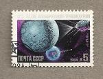 Sellos de Europa - Rusia -  25 Aniv. Luna-3