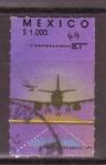 Stamps Mexico -  Centenario transporte y comunicación