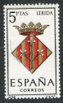 Sellos de Europa - España -  1554-  Escudos de las capitales de provincias españolas. LÉRIDA.