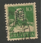 Stamps Europe - Switzerland -  Helvetia