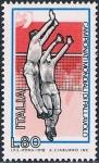 Sellos de Europa - Italia -  CAMPEONATO DEL MUNDO DE BOLEIBOL. Y&T Nº 1356