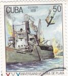 Sellos de America - Cuba -  XXX  aniversario victoria playa Giron