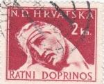 Sellos de Europa - Croacia -
