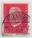 Stamps : Europe : Germany :  Hindenburg