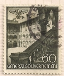Stamps : Europe : Germany :  Palacio Gobierno Nazi