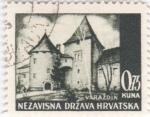Sellos de Europa - Croacia -  paisaje-Varazdin