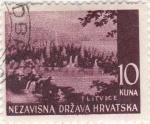 Stamps Croatia -  paisaje-