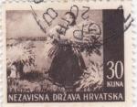 Sellos de Europa - Croacia -  paisaje-