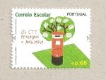 Sellos de Europa - Portugal -  Correo escolar