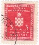 Sellos de Europa - Croacia -  sluzbena