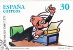 Sellos de Europa - España -  comics,personajes de tebeos- l