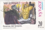 Stamps Spain -  escenas del quijote