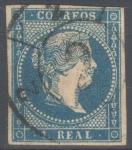 Stamps Spain -  ESPAÑA 49 ISABEL II