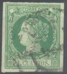 Stamps Europe - Spain -  ESPAÑA 51 ISABEL II