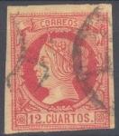 Stamps Europe - Spain -  ESPAÑA 53 ISABEL II