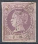 Stamps Spain -  ESPAÑA 56 ISABEL II