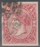 Stamps Spain -  ESPAÑA 69 ISABEL II