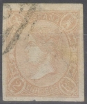 Stamps Spain -  ESPAÑA 73A ISABEL II