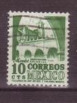 Sellos de America - México -   arquitectura colonial