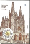 Stamps Europe - Spain -  Catedral de Burgos, Patrimonio de la Humanidad