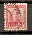Sellos de Oceania - Nueva Zelanda -  REY   GEORGE   VI