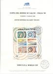 Sellos del Mundo : Europa : Italia : COPPA DEL MONDO DI CALCIO-ITALIA ' 90