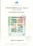 Sellos del Mundo : Europa : Italia : COPPA DEL MONDO DI  CALCIO – ITALIA ' 90