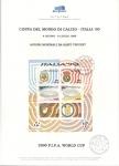 Sellos de Europa - Italia -  COPPA DEL MONDO DI  CALCIO –ITALIA ' 90