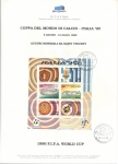 Sellos del Mundo : Europa : Italia : COPPA DEL MONDO DI  CALCIO –ITALIA ' 90