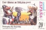 Stamps Spain -  historia de España