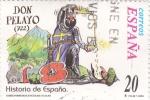 Sellos de Europa - España -  historia de España