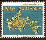 Sellos del Mundo : Oceania : Australia : Dragon de mar.
