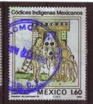 Sellos de America - México -  códices indigenas mexicanos