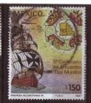 Stamps Mexico -  5º centenerio