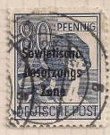 Stamps : Europe : Germany :  obrero