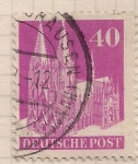 Stamps : Europe : Germany :  Catedral de Cologne