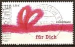 Sellos de Europa - Alemania -  Felicitación,lazo rojo y