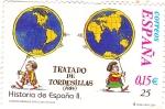 Stamps Spain -  historia de España ll