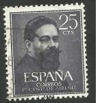 Stamps : Europe : Spain :  Albéniz