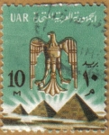 Stamps Africa - Egypt -  AGUILA IMPERIAL