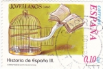 Stamps Spain -  historia de España lll