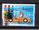 Stamps Spain -  Edifil  4150 Valores cívicos.