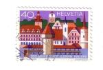 Stamps : Europe : Switzerland :  800 años de Luzern