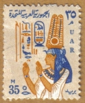 Stamps Africa - Egypt -  PINTURA ANTIGUA