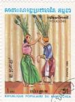 Stamps Cambodia -  folklore